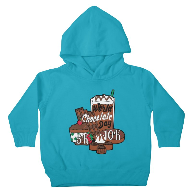 World Chocolate Day 5K & 10K! Kids Toddler Pullover Hoody by moonjoggers's Artist Shop