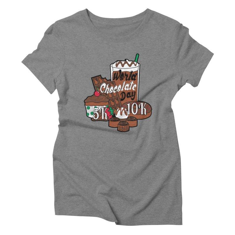 World Chocolate Day 5K & 10K! Women's Triblend T-Shirt by moonjoggers's Artist Shop