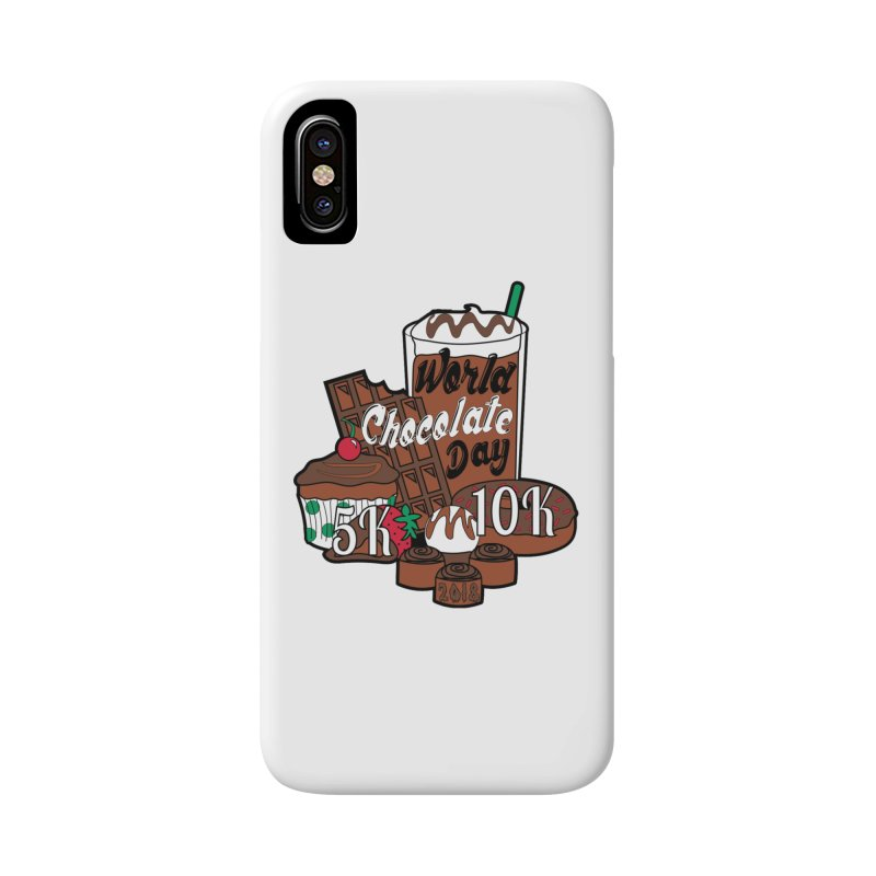 World Chocolate Day 5K & 10K! Accessories Phone Case by moonjoggers's Artist Shop