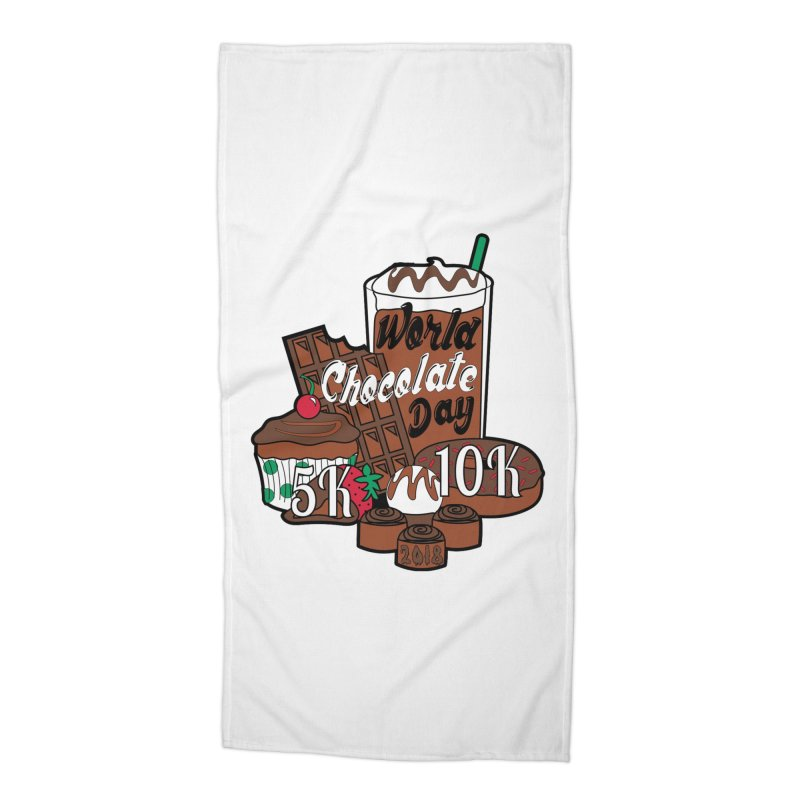 World Chocolate Day 5K & 10K! Accessories Beach Towel by moonjoggers's Artist Shop