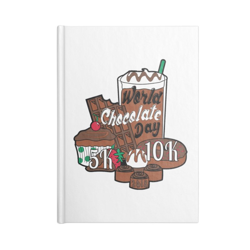 World Chocolate Day 5K & 10K! Accessories Notebook by moonjoggers's Artist Shop