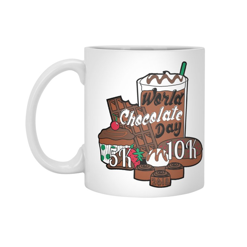 World Chocolate Day 5K & 10K! Accessories Mug by moonjoggers's Artist Shop