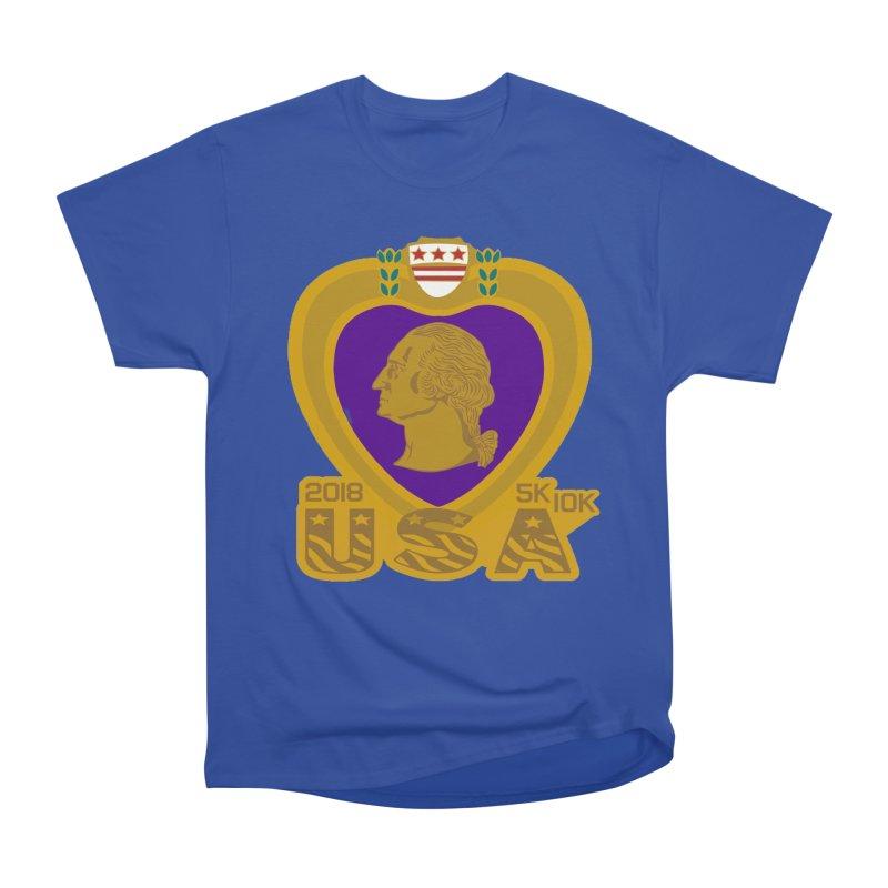 Purple Heart Day 5K & 10K Men's Classic T-Shirt by moonjoggers's Artist Shop