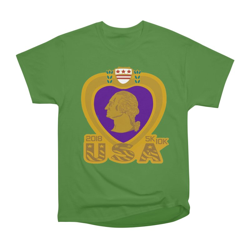 Purple Heart Day 5K & 10K Women's Classic Unisex T-Shirt by moonjoggers's Artist Shop