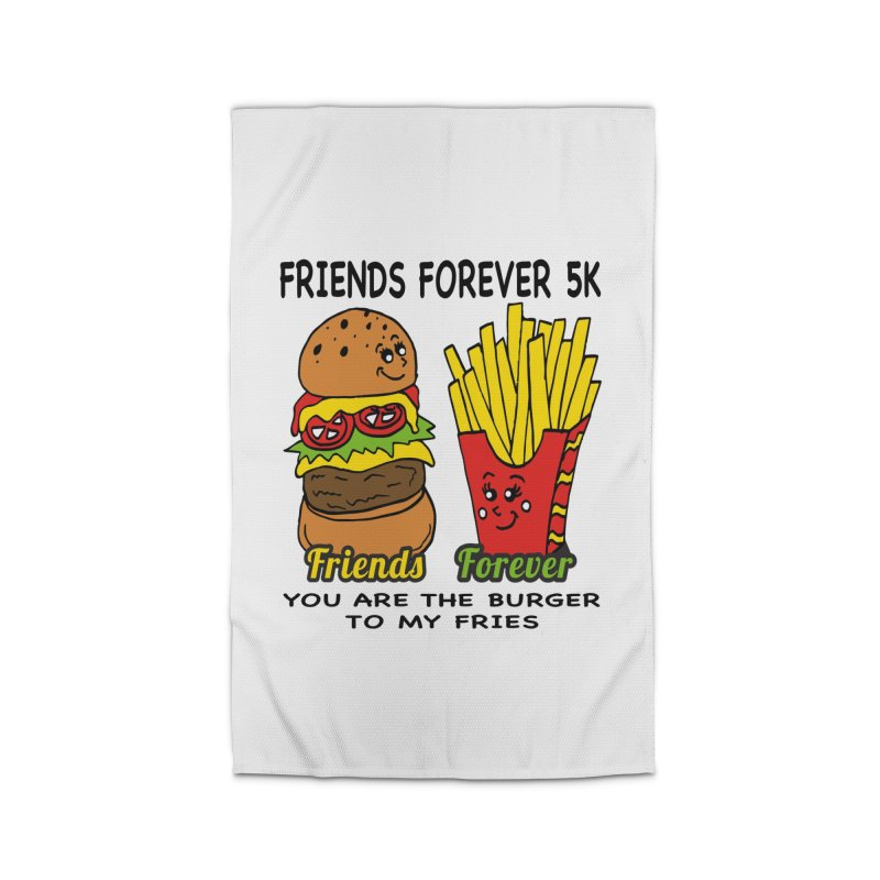 Friends Forever 5K - You Are The Burger to My Fries Home Rug by moonjoggers's Artist Shop