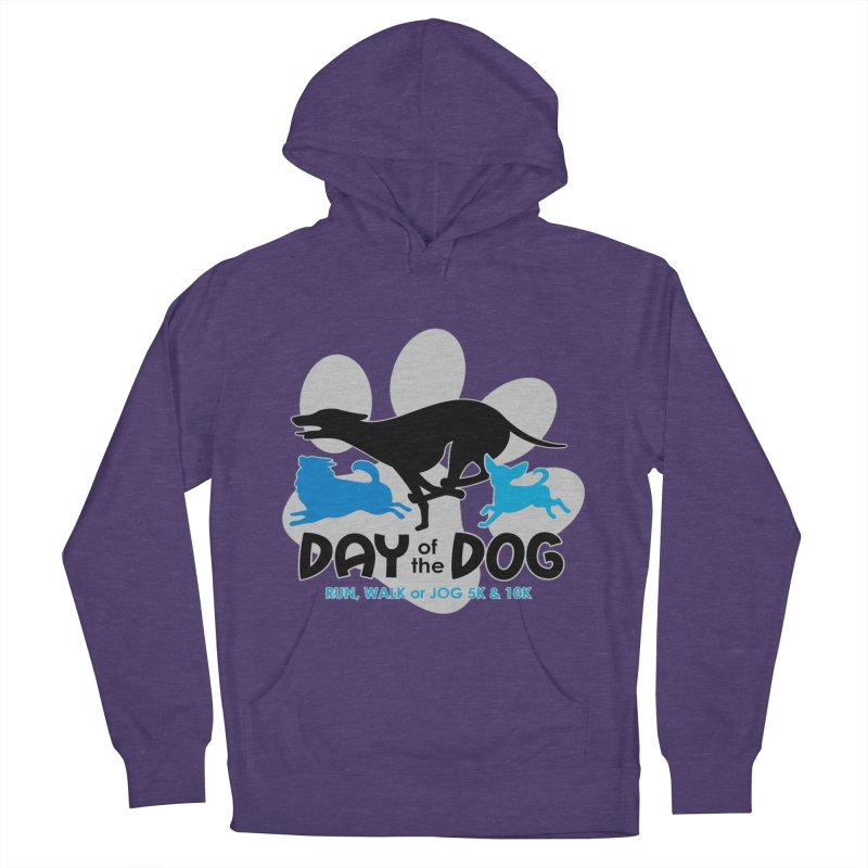 Day of the Dog - Run, Walk or Jog 5K & 10K Men's Pullover Hoody by moonjoggers's Artist Shop