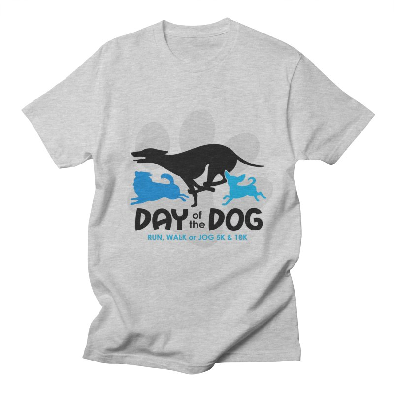 Day of the Dog - Run, Walk or Jog 5K & 10K Men's T-Shirt by moonjoggers's Artist Shop