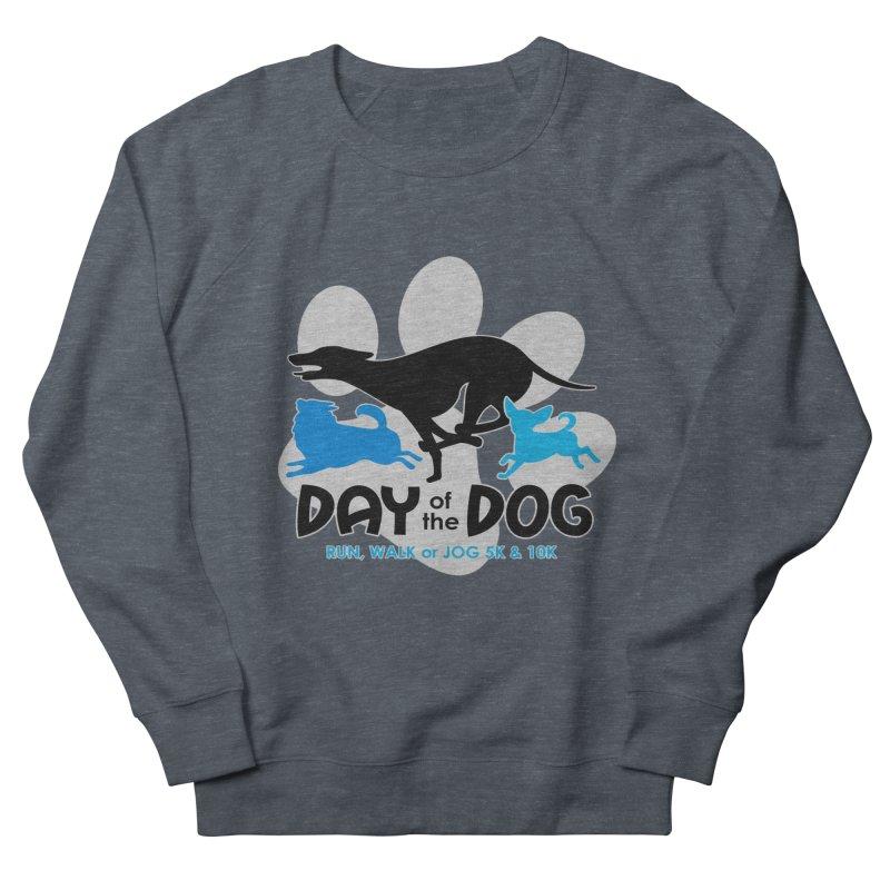 Day of the Dog - Run, Walk or Jog 5K & 10K Men's Sweatshirt by moonjoggers's Artist Shop