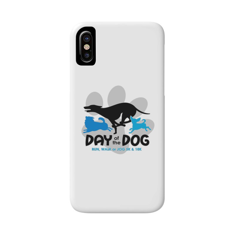 Day of the Dog - Run, Walk or Jog 5K & 10K Accessories Phone Case by moonjoggers's Artist Shop