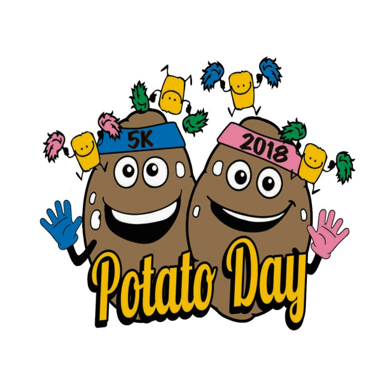 Potato Day 5K & 10K Men's T-Shirt by moonjoggers's Artist Shop