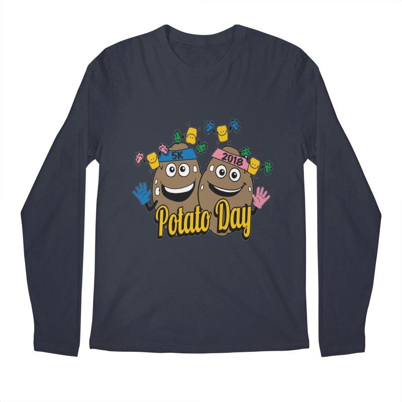 Potato Day 5K & 10K Men's Longsleeve T-Shirt by moonjoggers's Artist Shop