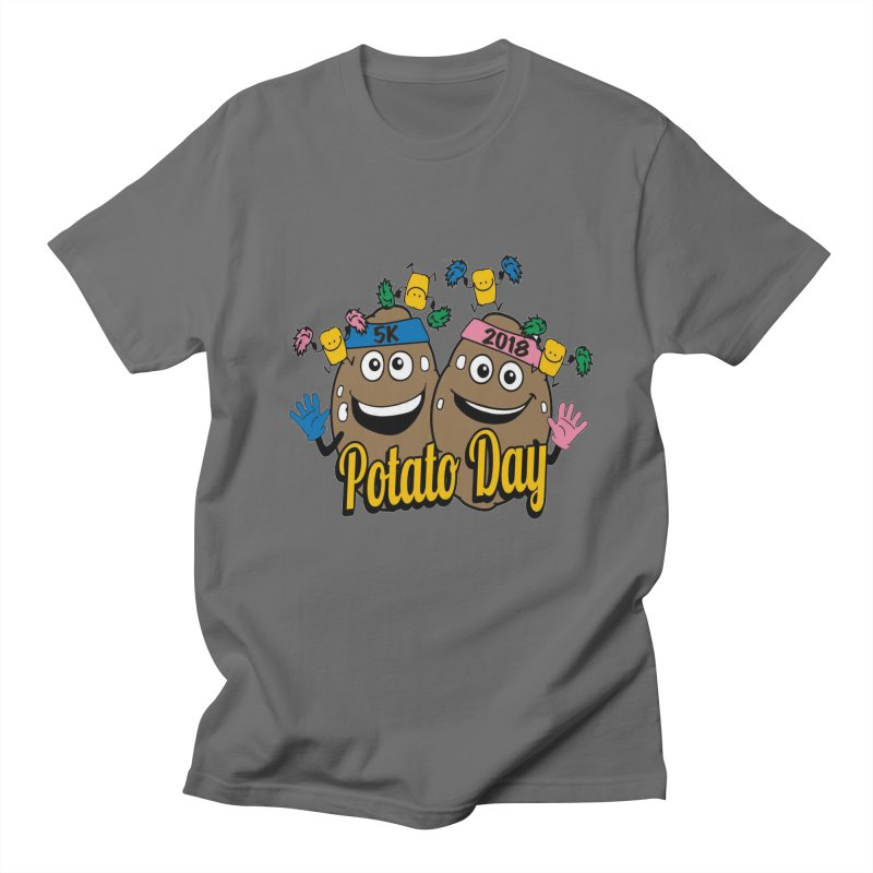 Potato Day 5K & 10K Men's T-Shirt by moonjoggers's Artist Shop