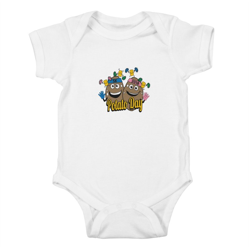 Potato Day 5K & 10K Kids Baby Bodysuit by moonjoggers's Artist Shop