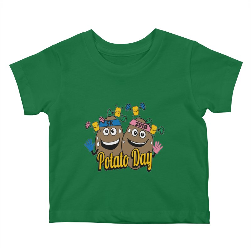 Potato Day 5K & 10K Kids Baby T-Shirt by moonjoggers's Artist Shop