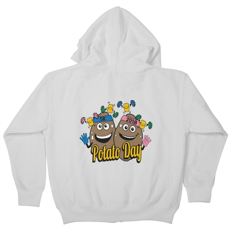 Potato Day 5K & 10K Kids Zip-Up Hoody by moonjoggers's Artist Shop