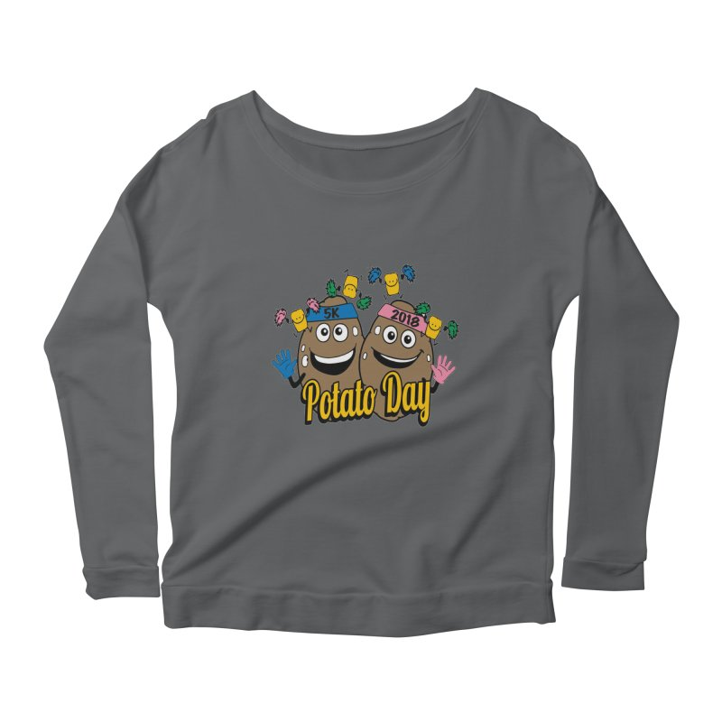 Potato Day 5K & 10K Women's Longsleeve Scoopneck  by moonjoggers's Artist Shop