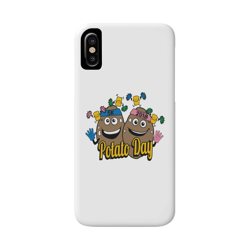 Potato Day 5K & 10K Accessories Phone Case by moonjoggers's Artist Shop