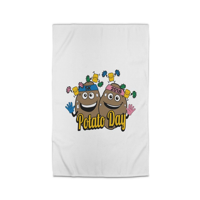 Potato Day 5K & 10K Home Rug by moonjoggers's Artist Shop