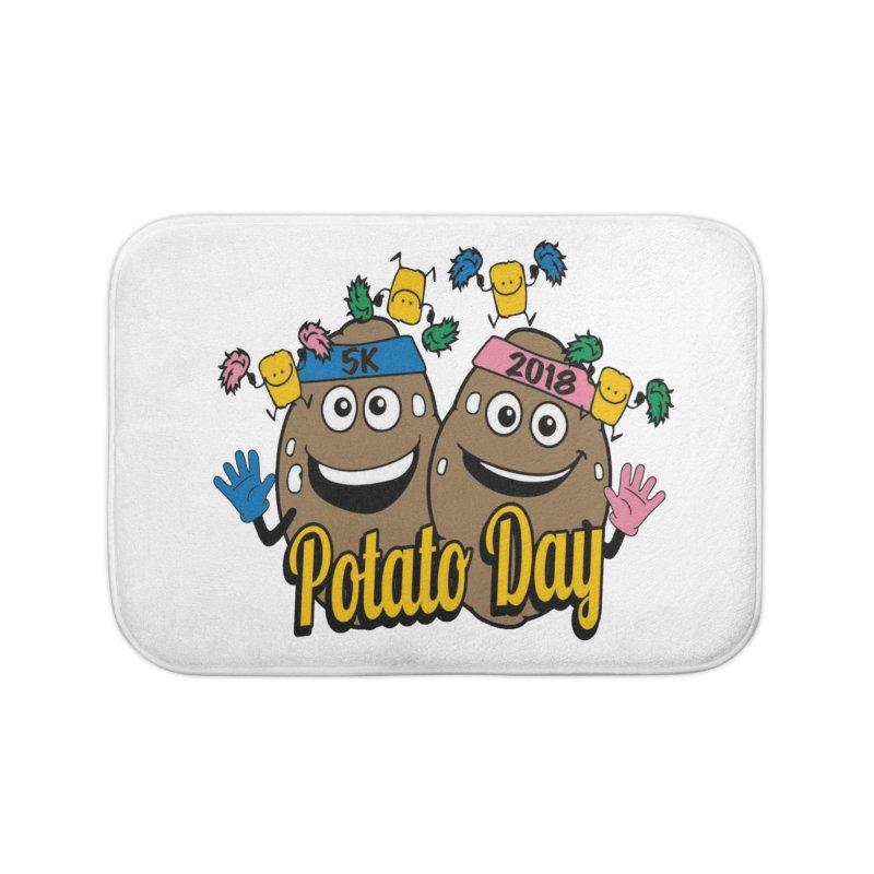 Potato Day 5K & 10K Home Bath Mat by moonjoggers's Artist Shop