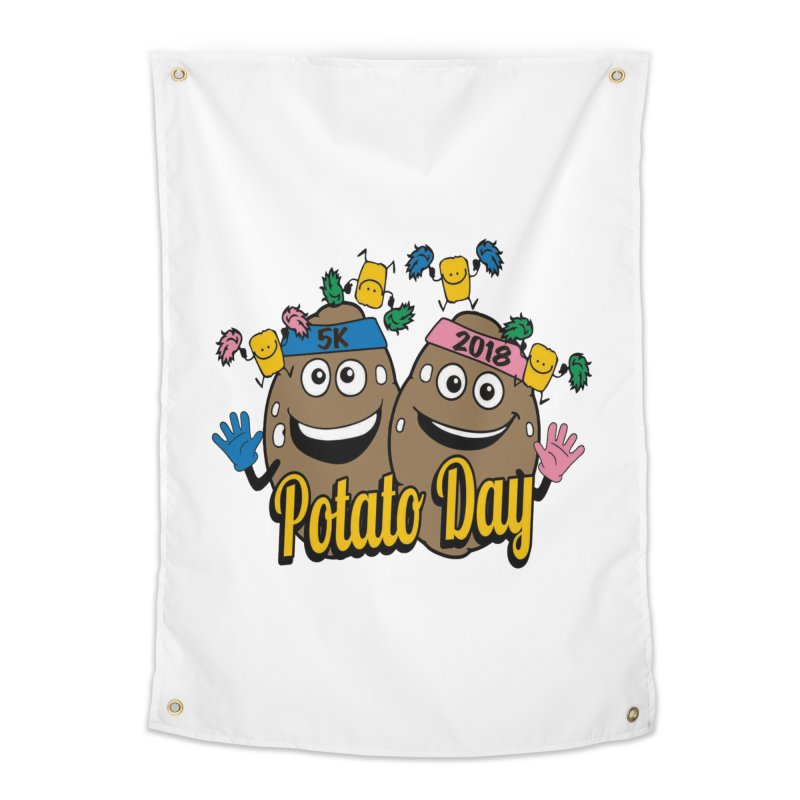 Potato Day 5K & 10K Home Tapestry by moonjoggers's Artist Shop