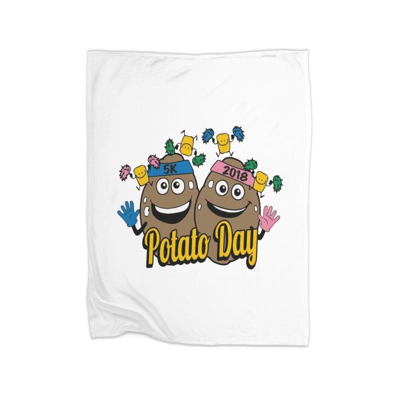Potato Day 5K & 10K Home Blanket by moonjoggers's Artist Shop
