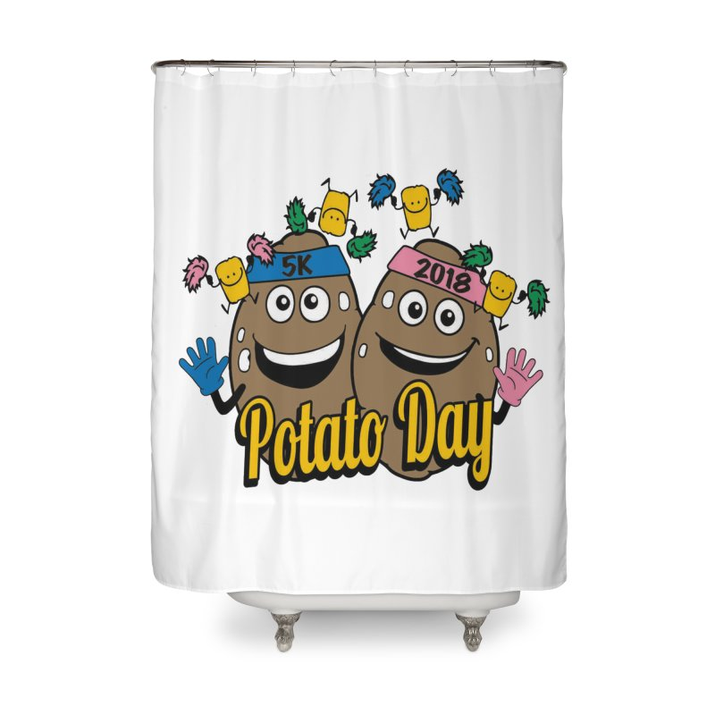 Potato Day 5K & 10K Home Shower Curtain by moonjoggers's Artist Shop
