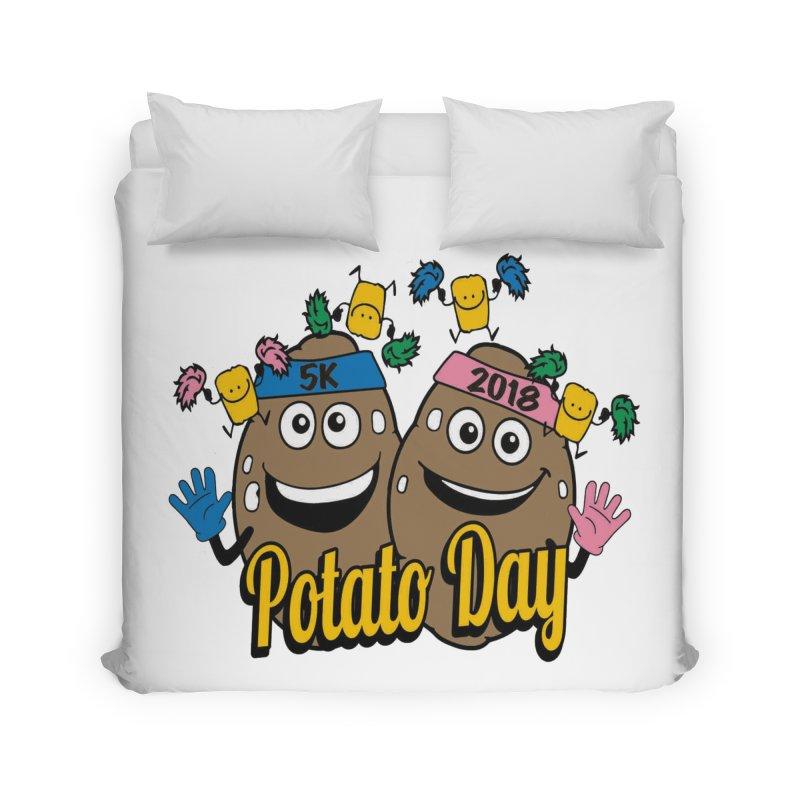 Potato Day 5K & 10K Home Duvet by moonjoggers's Artist Shop