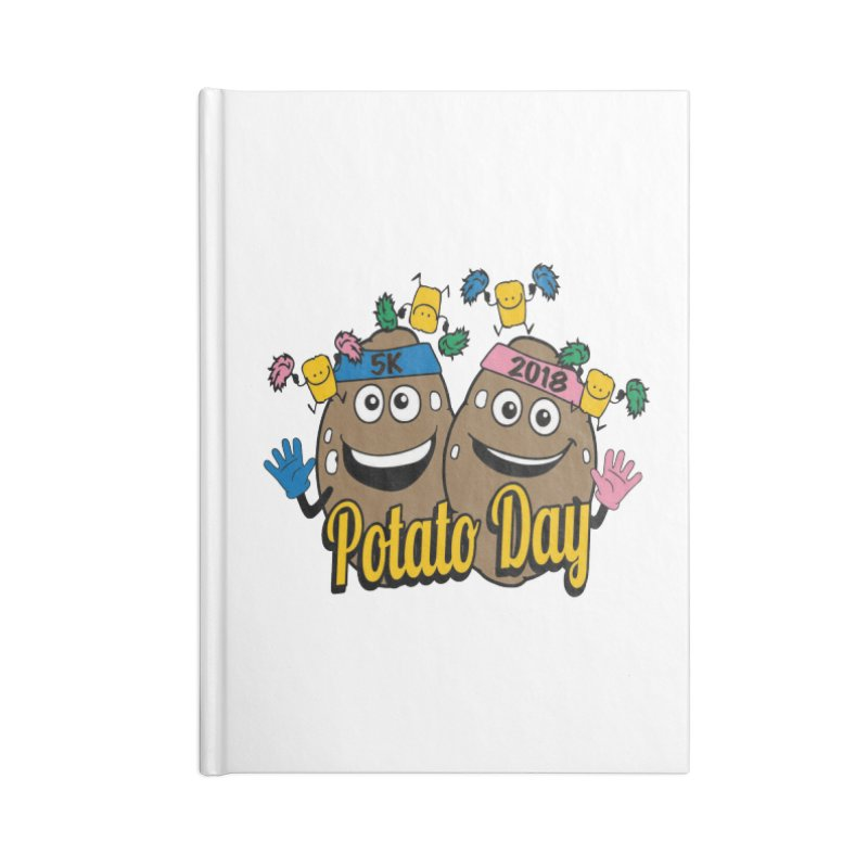 Potato Day 5K & 10K Accessories Notebook by moonjoggers's Artist Shop