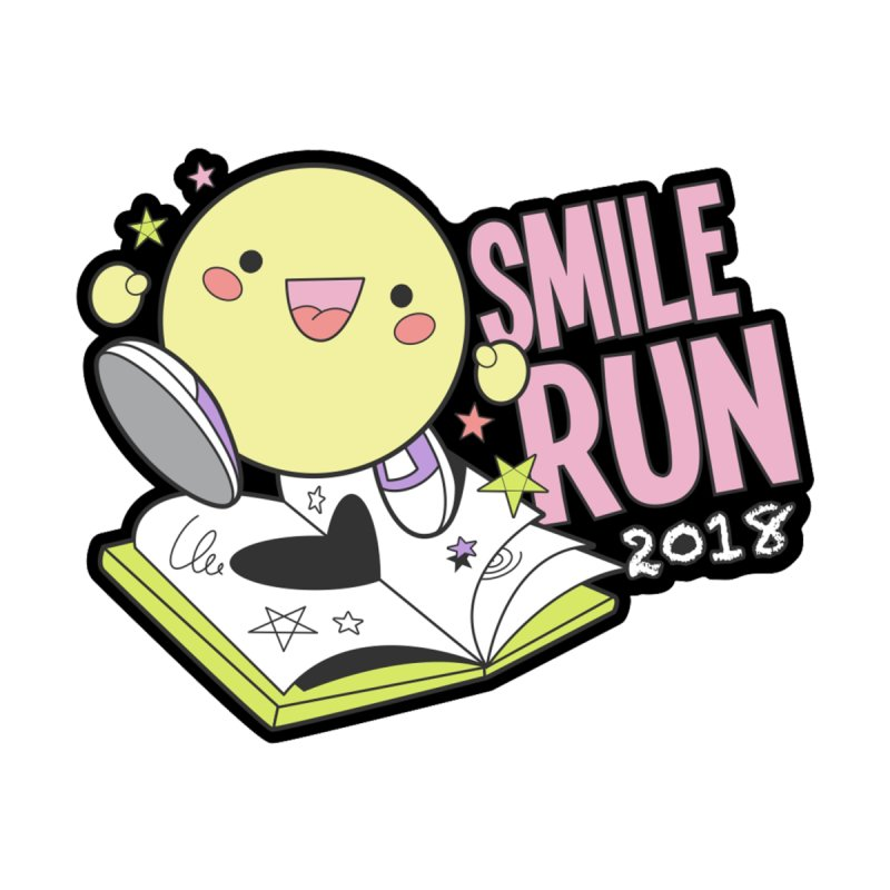 Smile Run 2018 by moonjoggers's Artist Shop