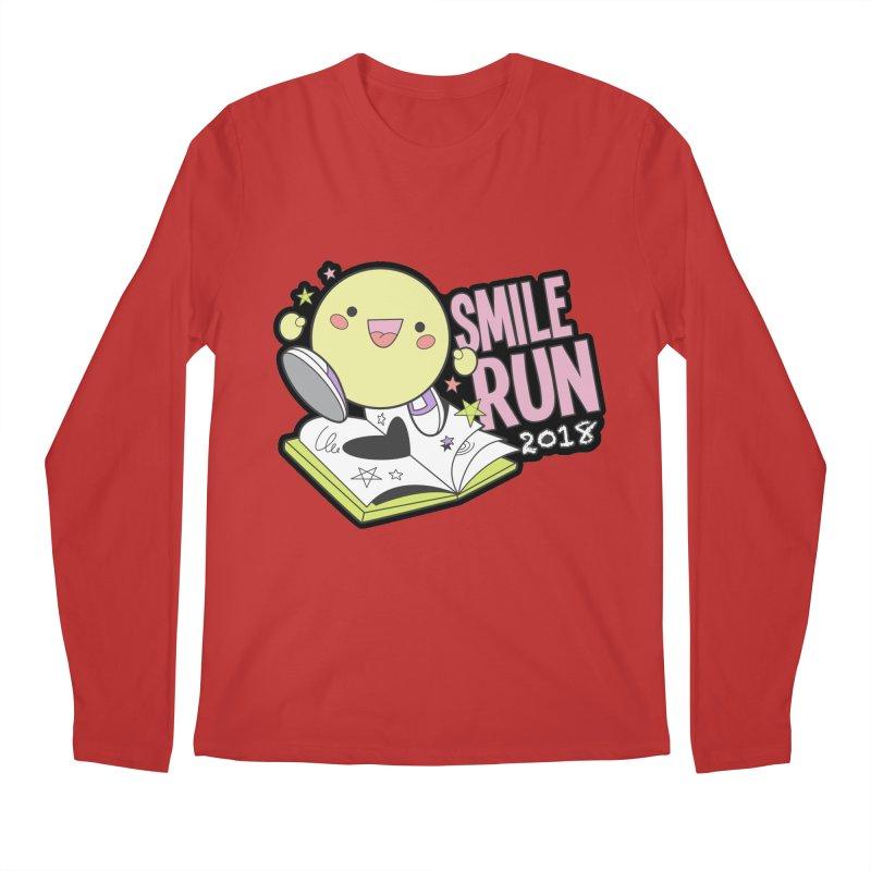 Smile Run 2018 Men's Longsleeve T-Shirt by moonjoggers's Artist Shop