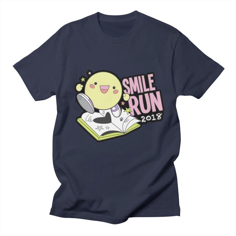 Smile Run 2018 Men's T-Shirt by moonjoggers's Artist Shop
