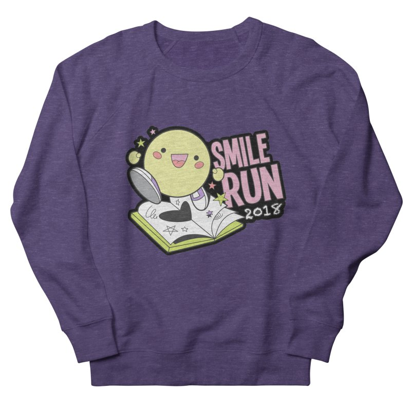 Smile Run 2018 Men's Sweatshirt by moonjoggers's Artist Shop