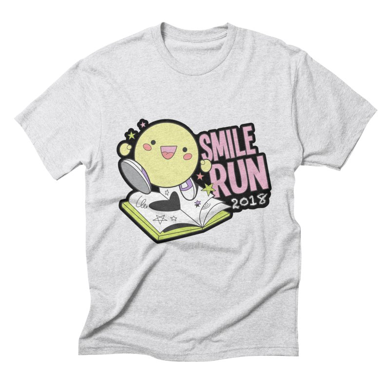 Smile Run 2018 Men's Triblend T-Shirt by moonjoggers's Artist Shop