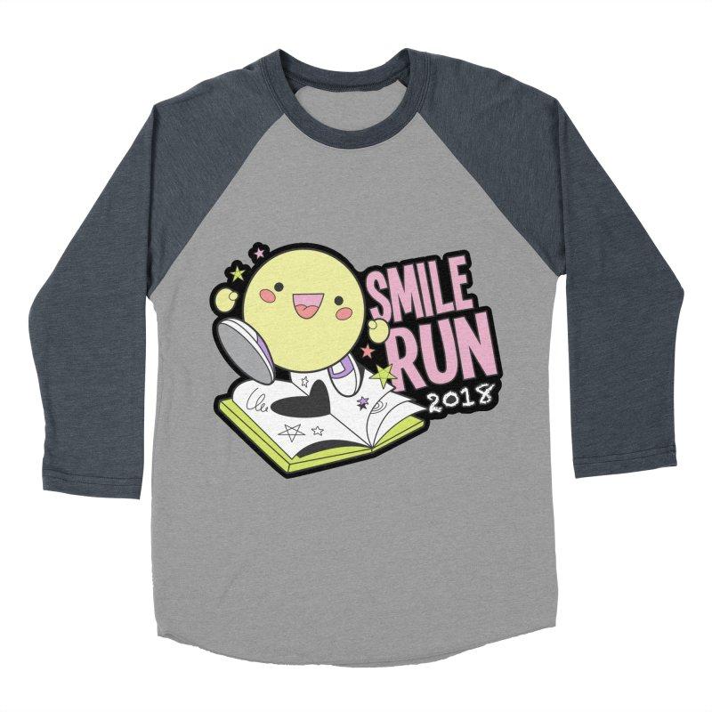 Smile Run 2018 Women's Baseball Triblend T-Shirt by moonjoggers's Artist Shop