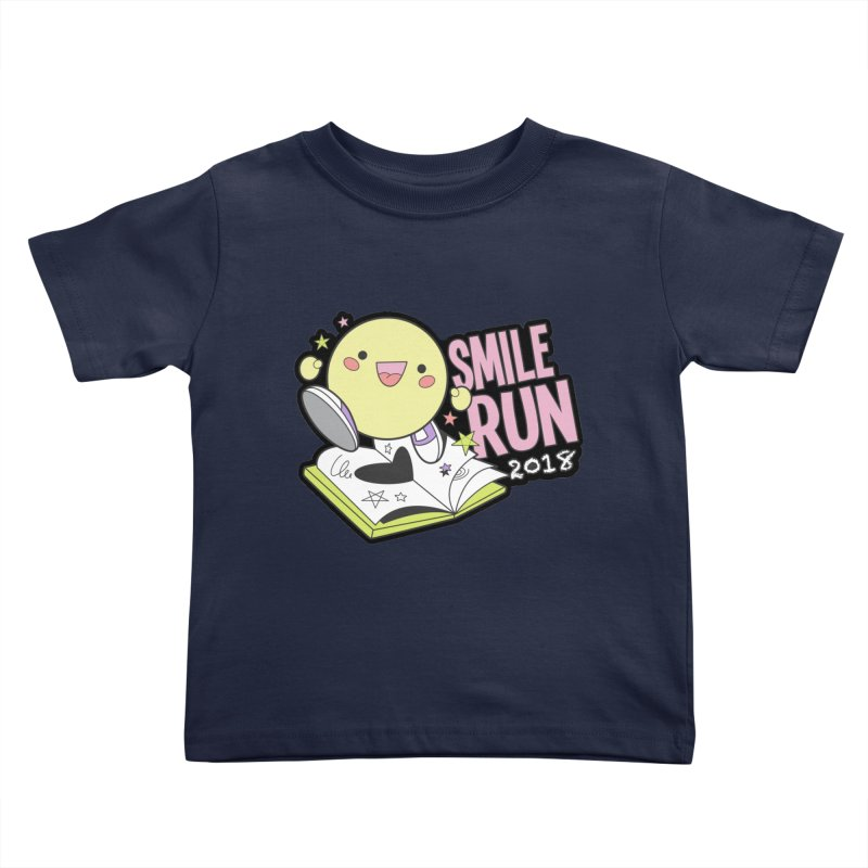 Smile Run 2018 Kids Toddler T-Shirt by moonjoggers's Artist Shop