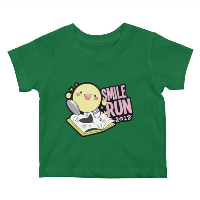 Smile Run 2018 Kids Baby T-Shirt by moonjoggers's Artist Shop