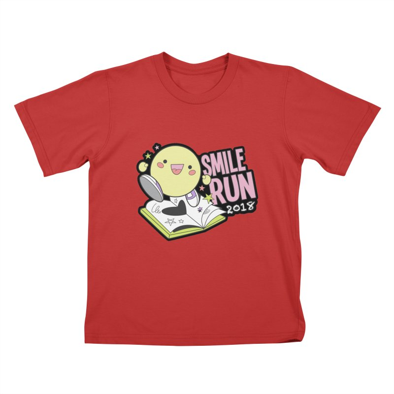 Smile Run 2018 Kids T-Shirt by moonjoggers's Artist Shop