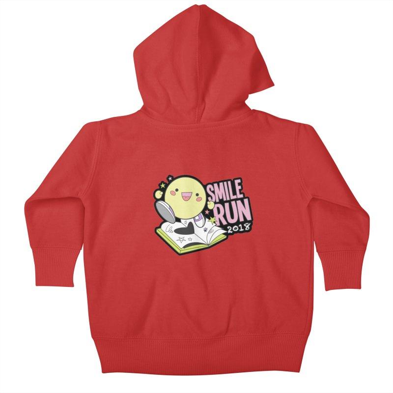 Smile Run 2018 Kids Baby Zip-Up Hoody by moonjoggers's Artist Shop