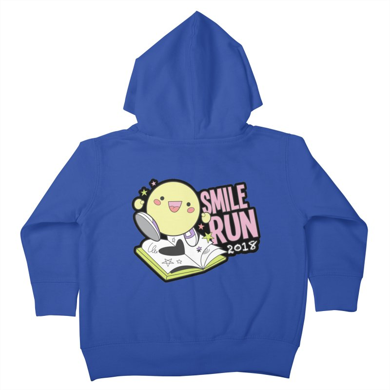 Smile Run 2018 Kids Toddler Zip-Up Hoody by moonjoggers's Artist Shop