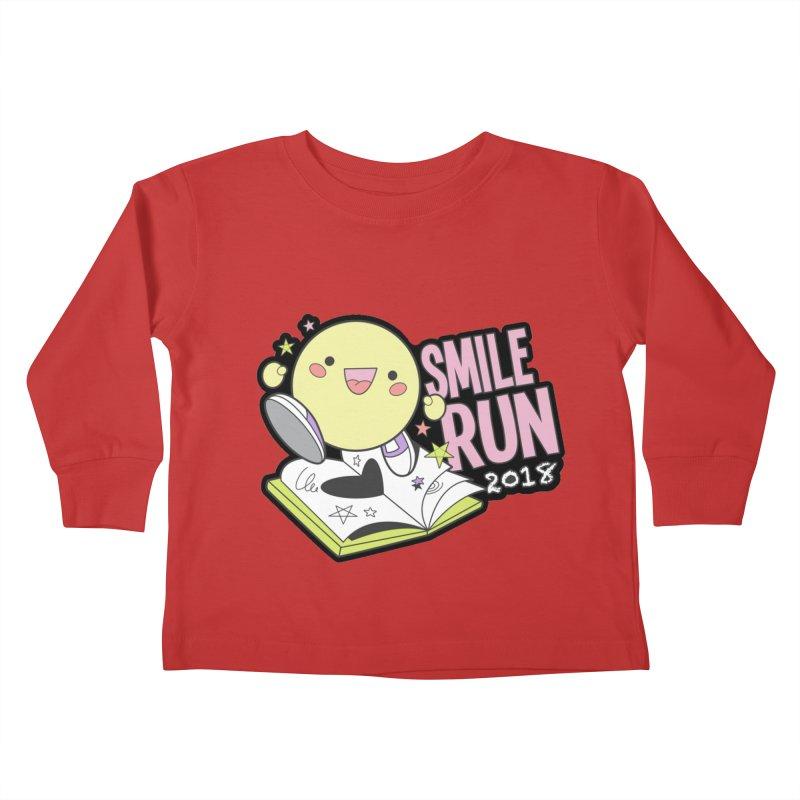 Smile Run 2018 Kids Toddler Longsleeve T-Shirt by moonjoggers's Artist Shop
