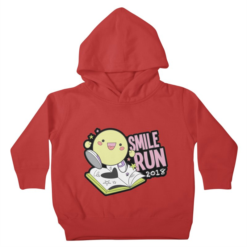 Smile Run 2018 Kids Toddler Pullover Hoody by moonjoggers's Artist Shop