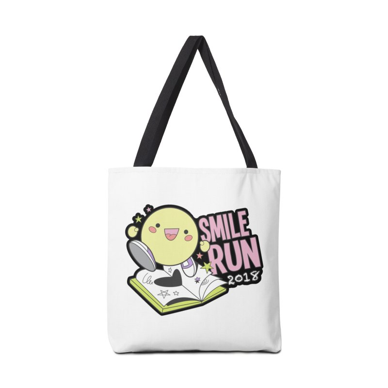 Smile Run 2018 Accessories Bag by moonjoggers's Artist Shop