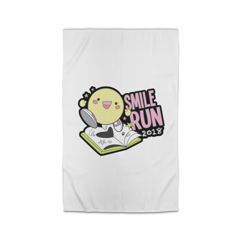 Smile Run 2018 Home Rug by moonjoggers's Artist Shop