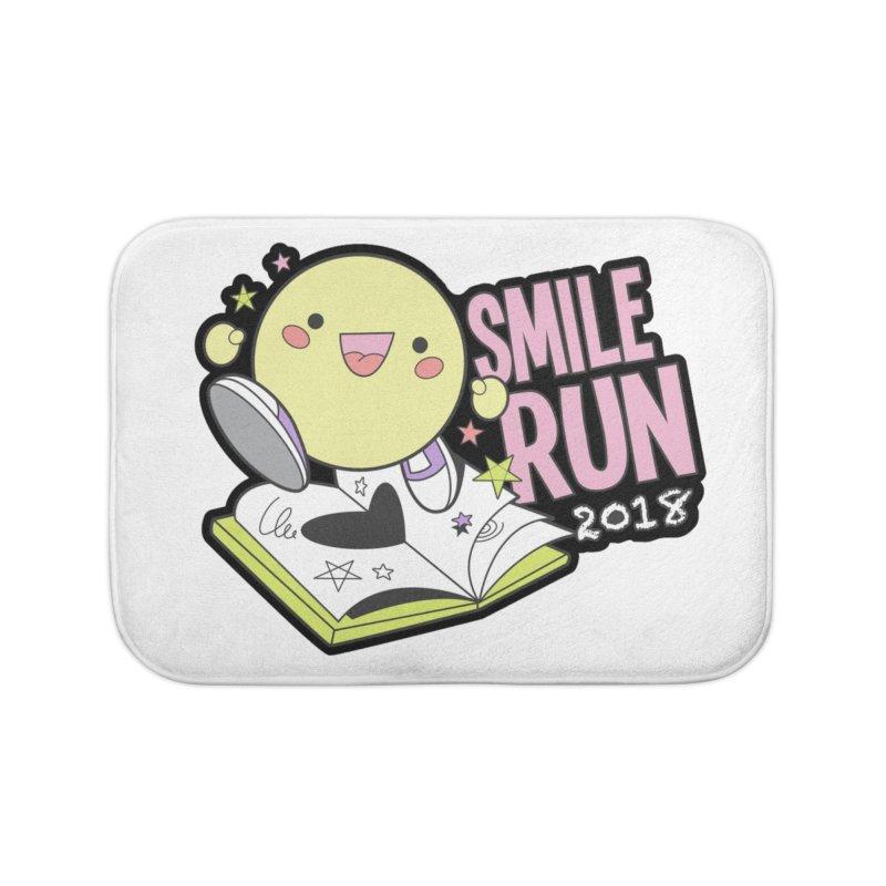 Smile Run 2018 Home Bath Mat by moonjoggers's Artist Shop
