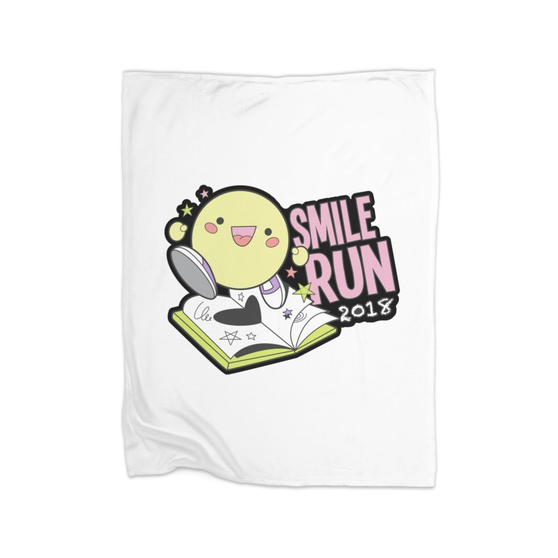 Smile Run 2018 Home Blanket by moonjoggers's Artist Shop