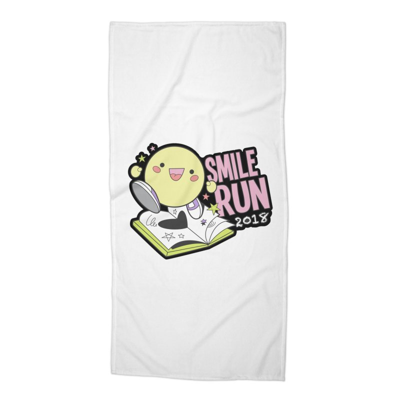 Smile Run 2018 Accessories Beach Towel by moonjoggers's Artist Shop