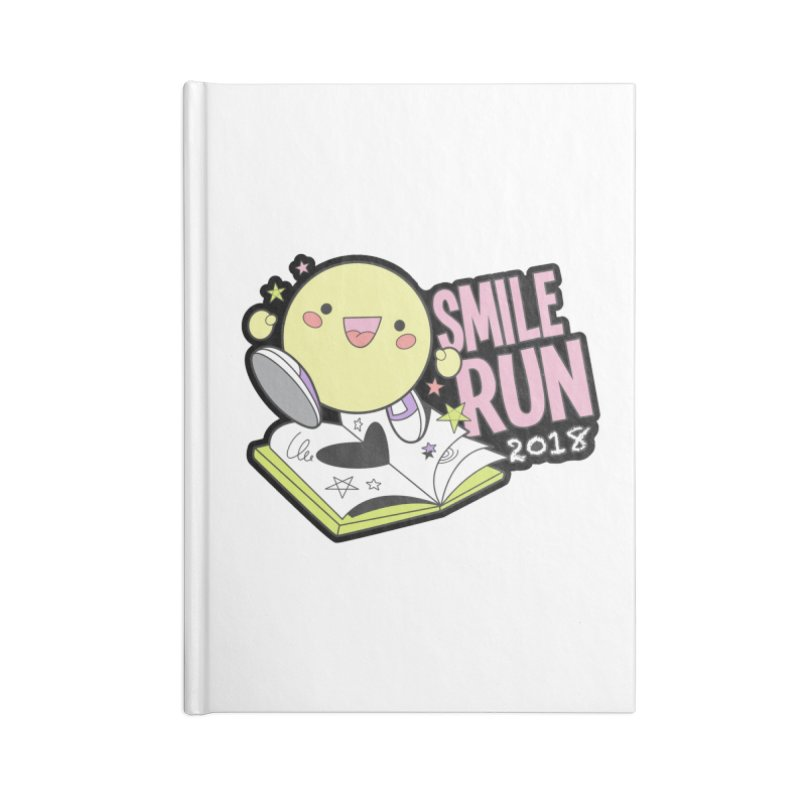 Smile Run 2018 Accessories Notebook by moonjoggers's Artist Shop
