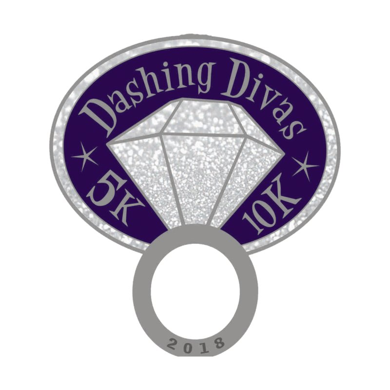 Dashing Divas 5K & 10K by moonjoggers's Artist Shop