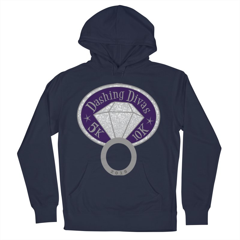 Dashing Divas 5K & 10K Women's Pullover Hoody by moonjoggers's Artist Shop