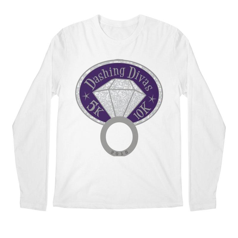 Dashing Divas 5K & 10K Men's Longsleeve T-Shirt by moonjoggers's Artist Shop